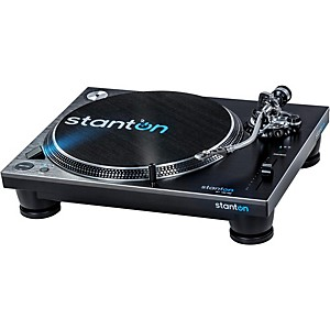 Stanton ST.150 M2 High-Torque Professional Direct-Drive DJ Turntable with D...