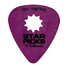 Everly Star Grip Guitar Picks (50 Picks)