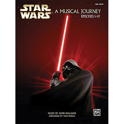 Alfred Star Wars - A Musical Journey (Music from Episodes I-VI) Big Note Piano Book