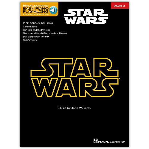 Hal Leonard Star Wars - Easy Piano CD Play-Along Volume 31 Book/CD
