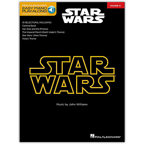 Hal Leonard Star Wars - Easy Piano Play-Along Volume 31 Book/Online Audio-thumbnail