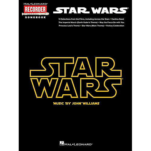 Hal Leonard Star Wars - Recorder Songbook-thumbnail