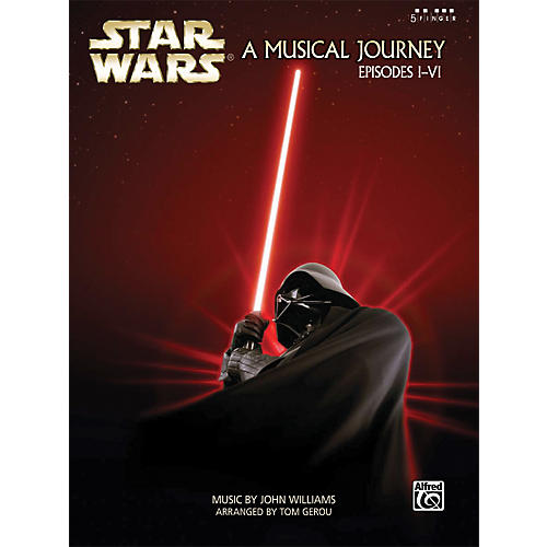 Alfred Star Wars A Musical Journey Music from Episodes I-VI Five Finger Piano Book-thumbnail