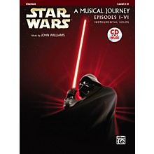 Alfred Star Wars Clarinet Instrumental Solos (Movies I-VI) Book & CD