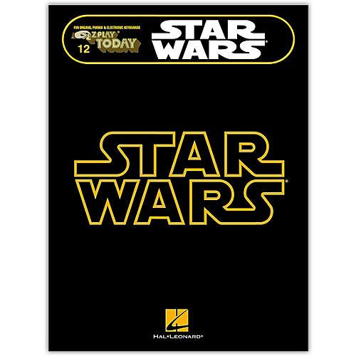 Hal Leonard Star Wars E-Z Play Today Volume 12