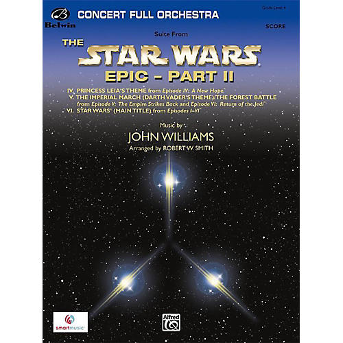 BELWIN Star Wars Epic Part II, Suite from the Grade 4-thumbnail