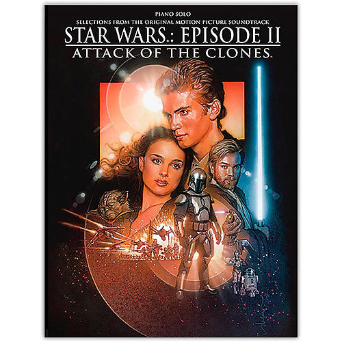 Alfred Star Wars  Episode II Attack of the Clones Piano Solo Songbook-thumbnail