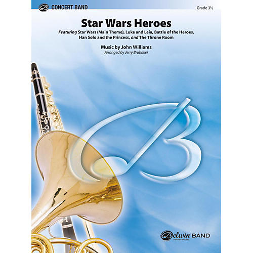 BELWIN Star Wars Heroes Grade 3.5 (Medium Easy to Medium)-thumbnail