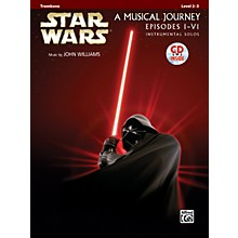 Alfred Star Wars Instrumental Solos (Movies I-VI) Trombone Book & CD