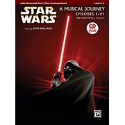 Alfred Star Wars Instrumental Solos for Strings (Movies I-VI) Cello Book & CD