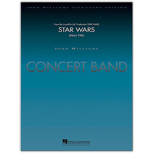 Hal Leonard Star Wars (Main Title) Concert Band Level 5-6 arranged by Stephen Bulla-thumbnail