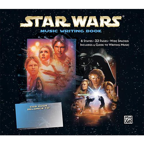Alfred Star Wars Music Writing Book-thumbnail