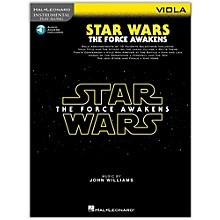 Hal Leonard Star Wars: The Force Awakens - Viola Instrumental Play-Along,  Book with Online Audio