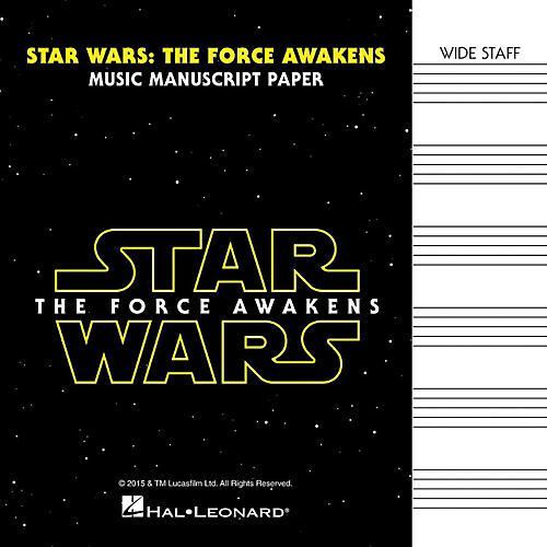 Hal Leonard Star Wars: The Force Awakens Manuscript Paper-thumbnail
