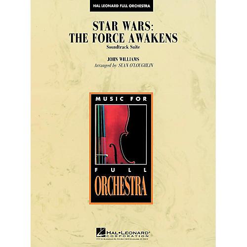 Hal Leonard Star Wars: The Force Awakens Soundtrack Suite Full Orchestra Level 3-thumbnail
