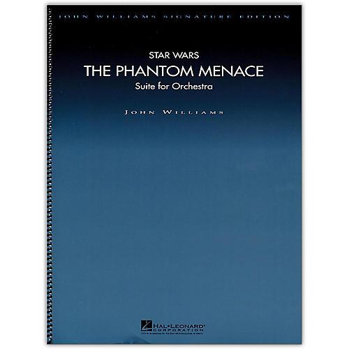 Hal Leonard Star Wars: The Phantom Menace - John Williams Signature Edition Orchestra Deluxe Score