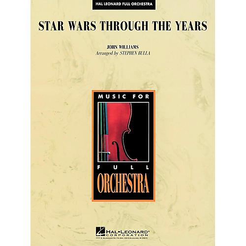 Hal Leonard Star Wars Through the Years - Full Orchestra Level 3-thumbnail