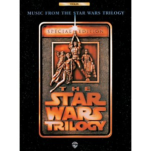 Alfred Star Wars Trilogy for Violin Book by Alfred