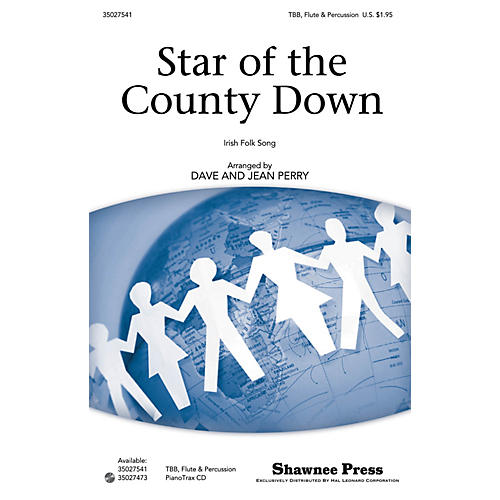 Shawnee Press Star of the County Down arranged by Dave Perry