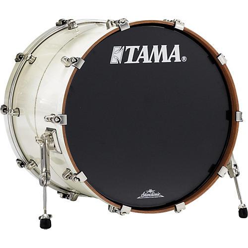 Tama StarClassic Bubinga Bass Drum White Pearl Diamond Inlay 22x18