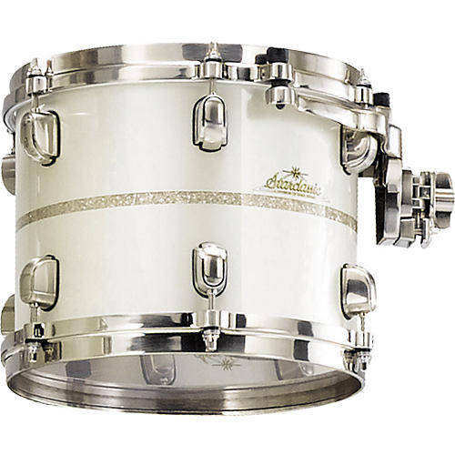 Tama StarClassic Bubinga Tom White Pearl Diamond Inlay 12x9