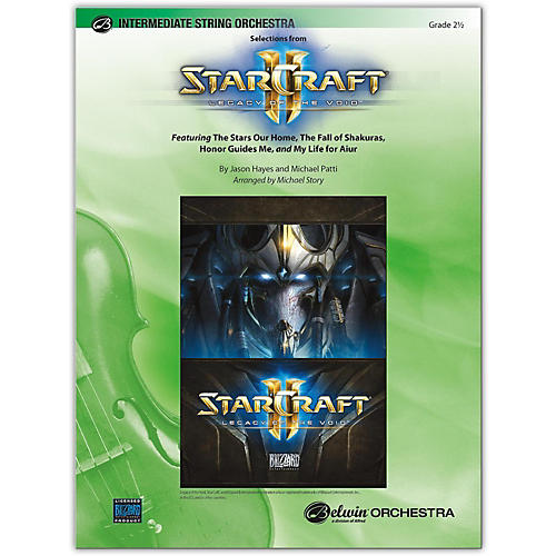 BELWIN StarCraft II: Legacy of the Void, Selections from 2.5