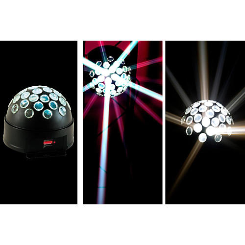 American DJ Starball LED DMX Mirror Ball Effect