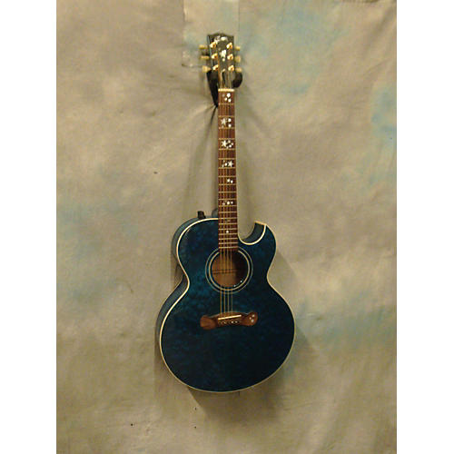 Gibson Starburst Acoustic Electric Guitar