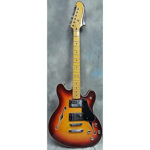 Fender Starcaster Modern Player Hollow Body Electric Guitar-thumbnail