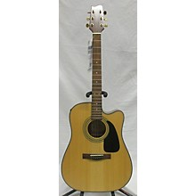 Starcaster by Fender Starcaster Natural Acoustic Electric Guitar