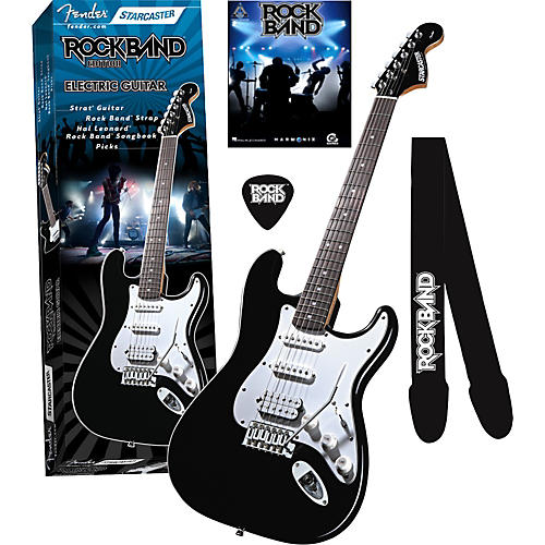 Fender Starcaster Strat Rock Band Electric Guitar Value Pack-thumbnail