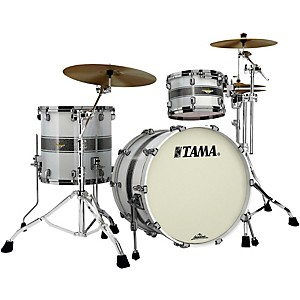 Click here to buy Tama Starclassic Bubinga 3-Piece Shell Pack with 22 inch Bass Drum by Tama.