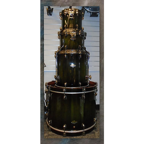 Tama Starclassic Bubinga Drum Kit Green Cordia