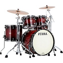 Tama Starclassic Bubinga Exotix 4-Piece Shell Pack with Black Nickel Hardware