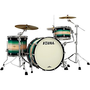 Tama Starclassic Maple Exotix Pacific Walnut 3-Piece Shell Pack with 24 inch Ba...