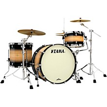 "Tama Starclassic Maple Exotix Pacific Walnut 3-Piece Shell Pack with Black Nickel Hardware and 24"" Bass Drum"