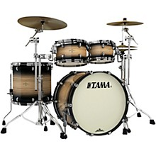 """Tama Starclassic Maple Exotix Pacific Walnut 4-Piece Shell Pack with 22"""" Bass Drum"""