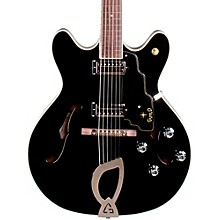 Starfire IV Hollowbody Archtop Electric Guitar Black