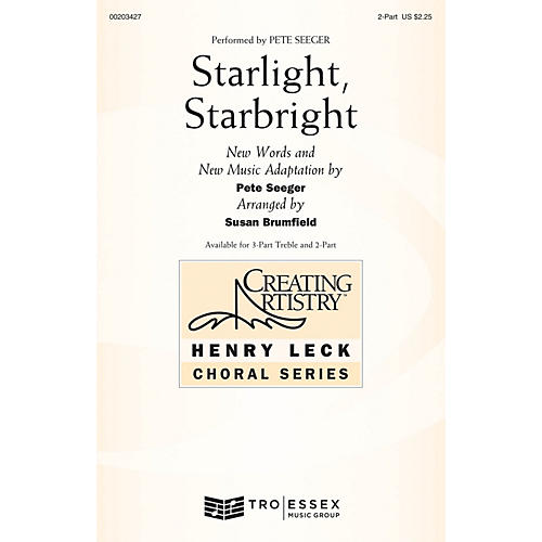 Hal Leonard Starlight, Starbright 2-Part arranged by Susan Brumfield