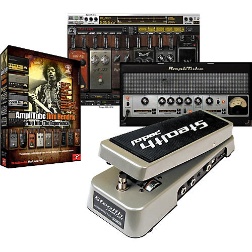 IK Multimedia StealthPedal Audio Controller/Interface + AmpliTube Hendrix Software Plug-In