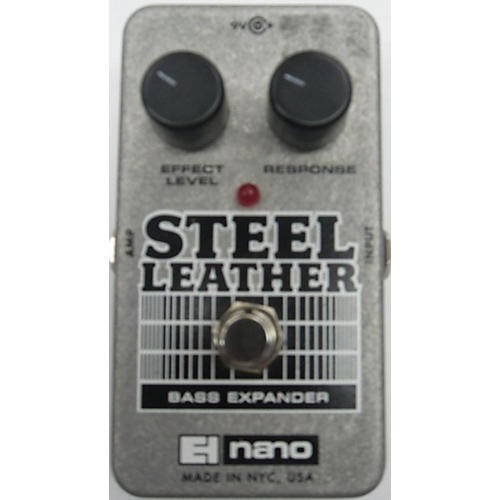 Electro-Harmonix Steel Leather Nano Bass Expander