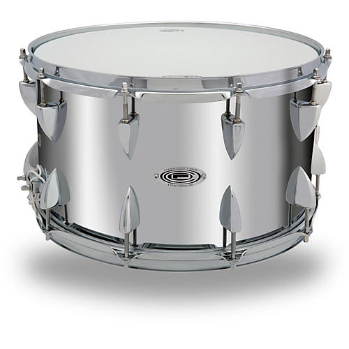 Orange County Drum & Percussion Steel Snare Drum in Chrome Finish-thumbnail