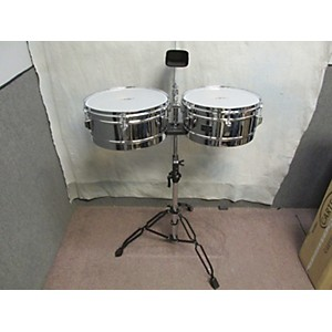 Pre-owned Schalloch Steel Timbales Set Timbales by Schalloch