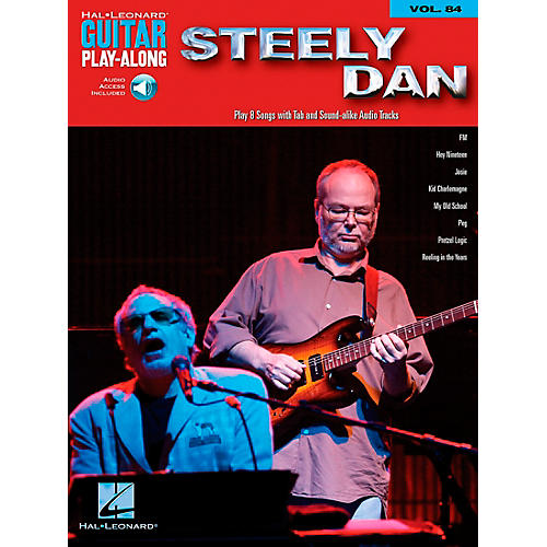 Hal Leonard Steely Dan - Guitar Play-Along Volume 84 (Book/CD)-thumbnail