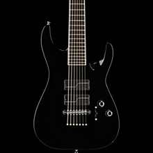ESP Stef Carpenter 7-string Baritone Electric Guitar Black