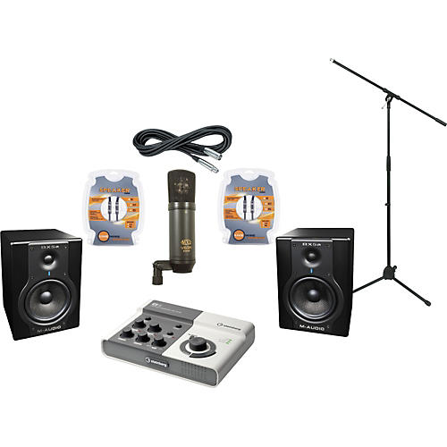 M-Audio Steinberg Ci2 and M-Audio BX5a Recording Package-thumbnail