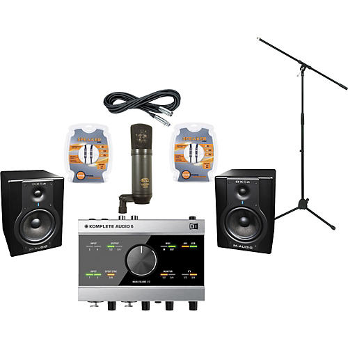M-Audio Steinberg Ci2+ and M-Audio BX5a Recording Package
