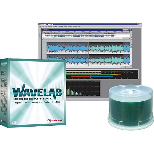 Steinberg Steinberg WaveLab Essentials/Pro Media Bundle-thumbnail