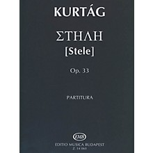 Editio Musica Budapest Stele Op.33 Score EMB Series by Gyorgy Kurtag