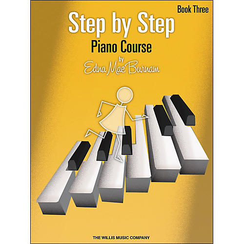 Willis Music Step By Step Piano Course Book 3 (Book Only)-thumbnail
